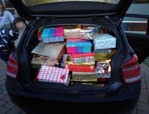 Autoladung Päckchen